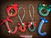 2013 Candy Cane & Wreath キット